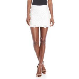 NWT Free People Dreamy Days Mini Skirt